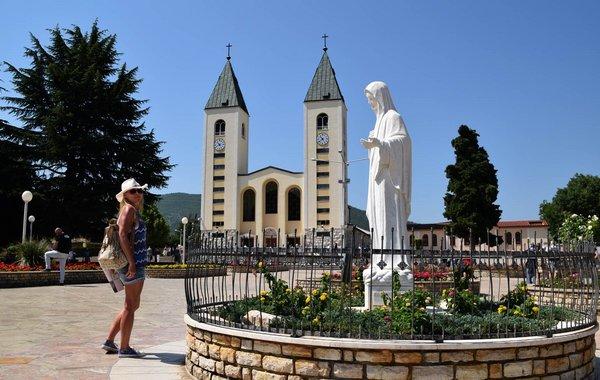 Besuch vom Wallfahrtsort Medugorje