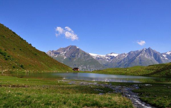 Bergsee an der Bergerseehütte