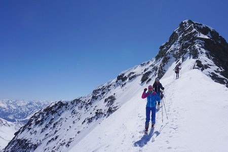 Piz Fliana (3281m) von der Silvrettahütte