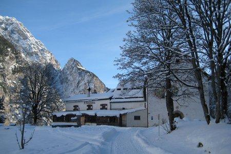 Winterwanderweg zum Alpengasthaus St. Magdalena
