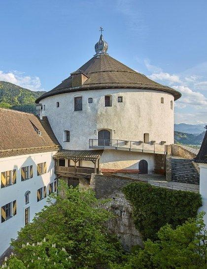 Der Kaiserturm der Festung Kufstein