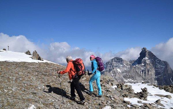 Unterwegs am Pflerscher Höhenweg