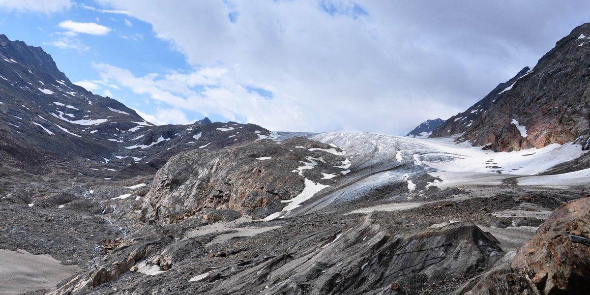 Gletscherzunge vom Gurgler Ferner