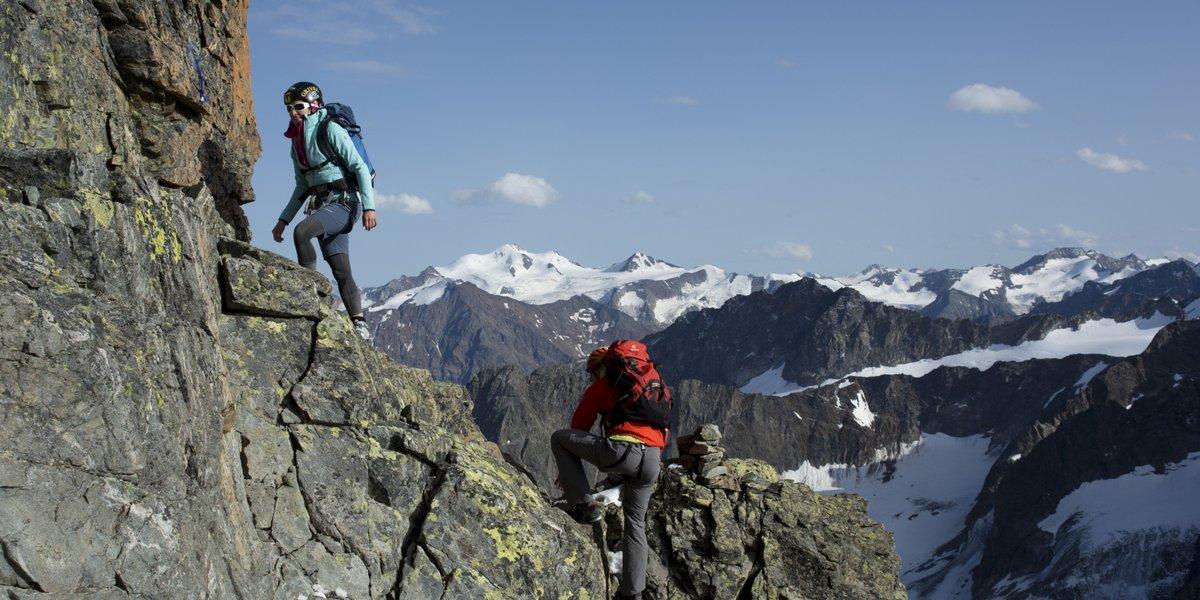 Der Aufstieg auf die Verpeilspitz. Foto: Bernd Ritschel