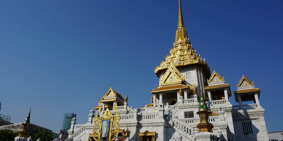 Tempelanlagen in Bangkok