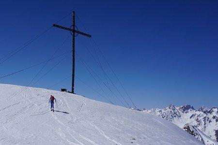 Vorderes Kreuzjoch (2845m) von See