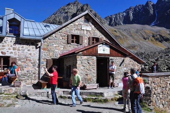 Berghütten im Ötztal