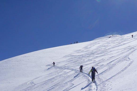 Mit Bergführer auf Tour