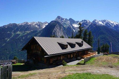 Armelenhütte (1747m) von Tumpen