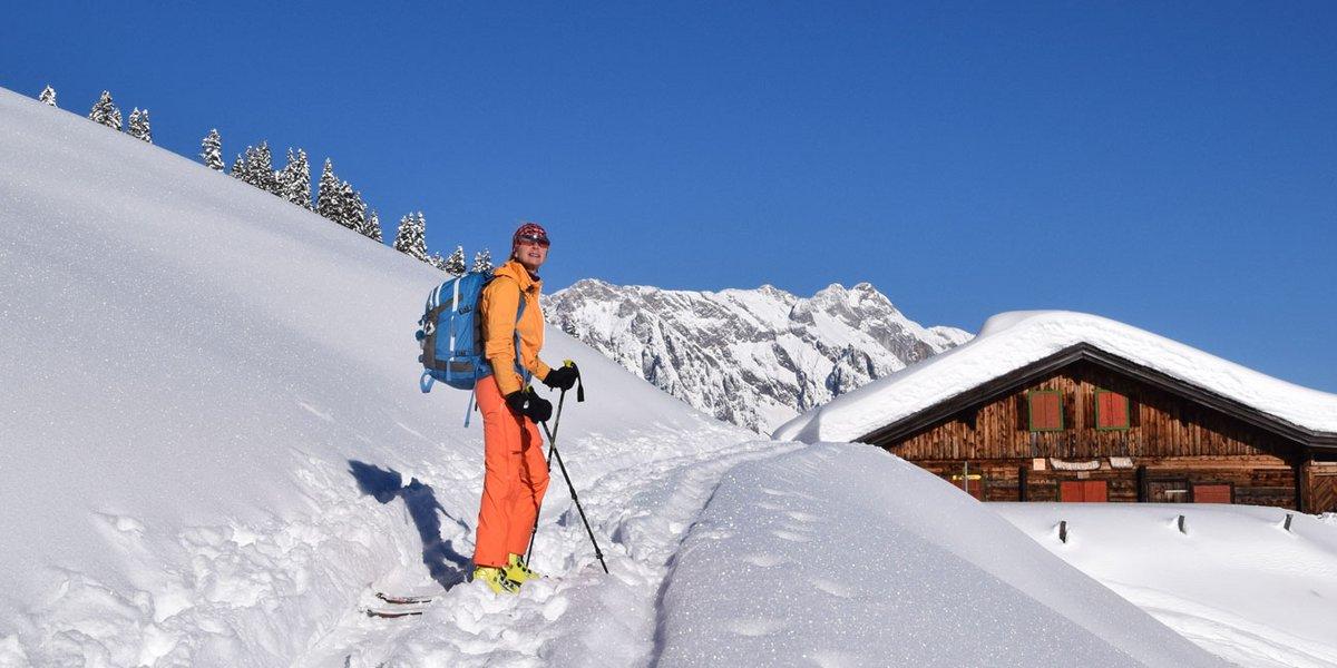 Skitour Marbachhöhe über Reicheralm