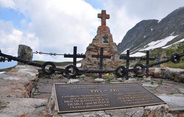 Kriegerfriedhof am Hochgräntenjoch