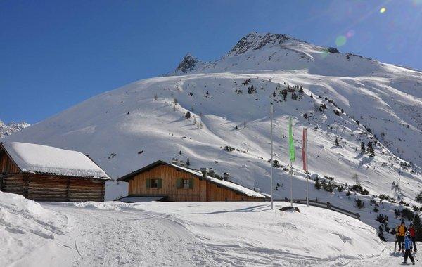 Skitouren-Stützpunkt Schweinfurter Hütte
