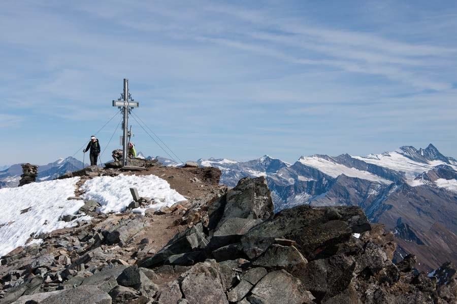 Weissseespitze (3300 m) in der Venedigegruppe, Osttirol