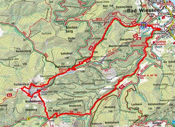 Fockenstein (1564 m) von Bad Wiessee