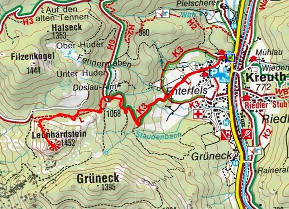 Leonhardstein (1449 m) von Kreuth
