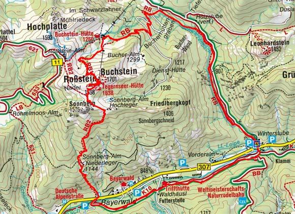 Roßstein - Buchstein (1697/1702 m) von der Winterstube