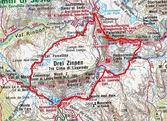 Paternkofel (2744 m) über den De Luca Innerkofler Steig