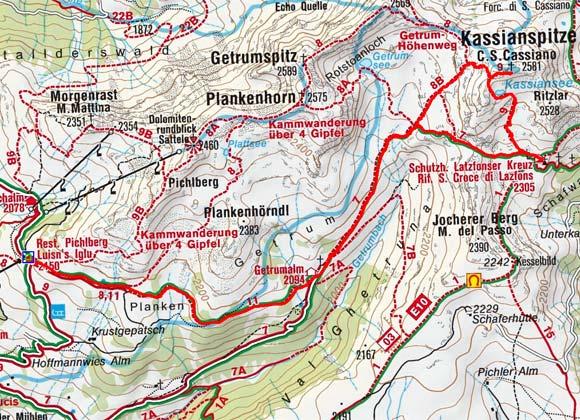 Kassianspitze (2581 m) von Reinswald