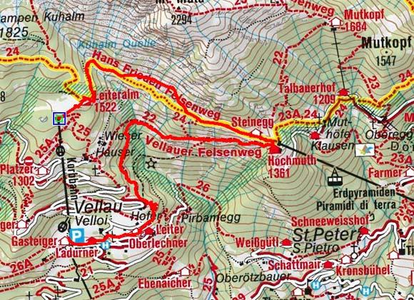 Vellauer Felsenweg