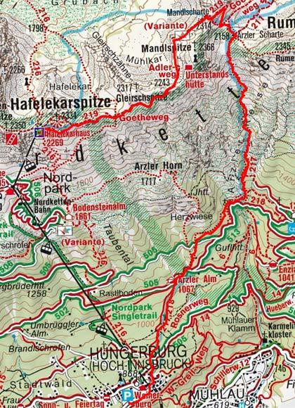 Goetheweg - Nordkette