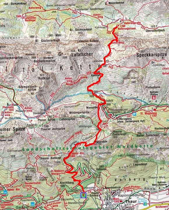 Südliche Karwendel Gipfel Rundtour - Tag 1