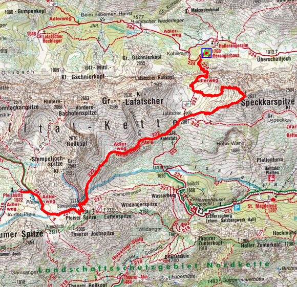 Südliche Karwendel Gipfel Rundtour - Tag 2