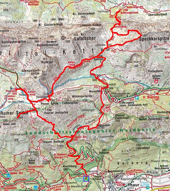 Südliche Karwendel Gipfel Rundtour