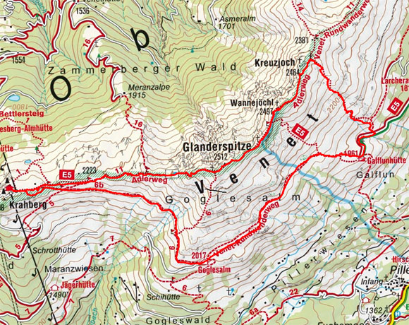 3-Gipfel Rundtour am Venet
