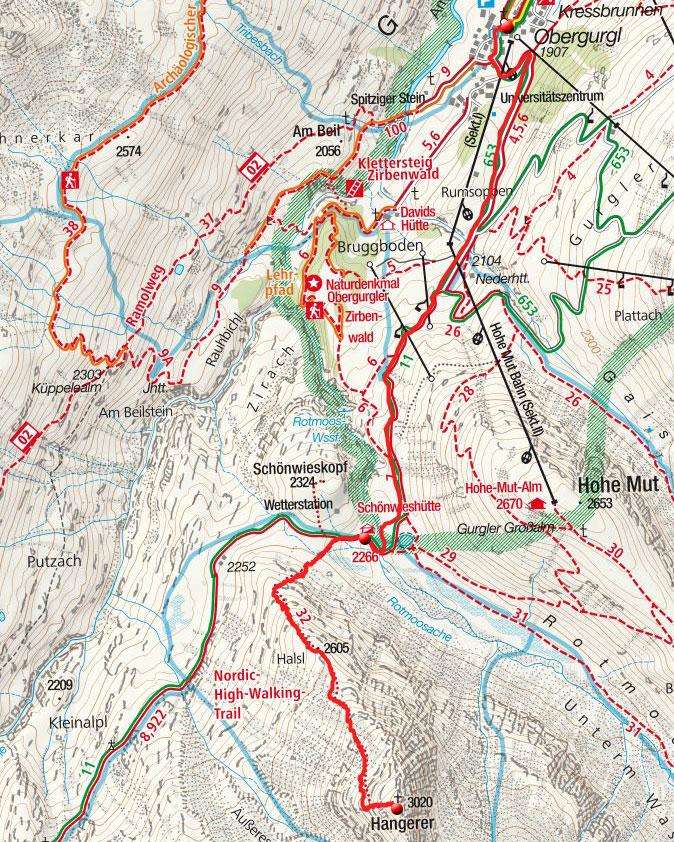Hangerer (3021m) von Obergurgl