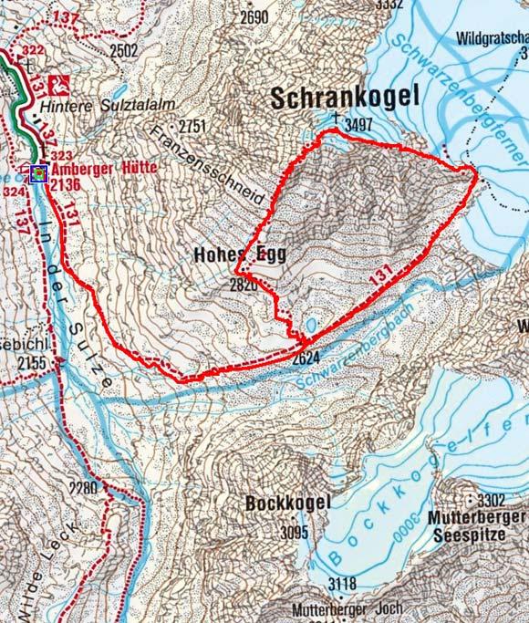 Schrankogel - Überschreitung (3497 m) von der Amberger Hütte
