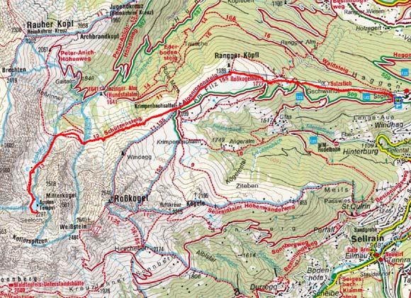 Hundstalsee (2277 m) von Stiglreith