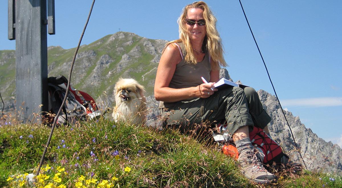 Wandern mit Hund im Tannheimer Tal