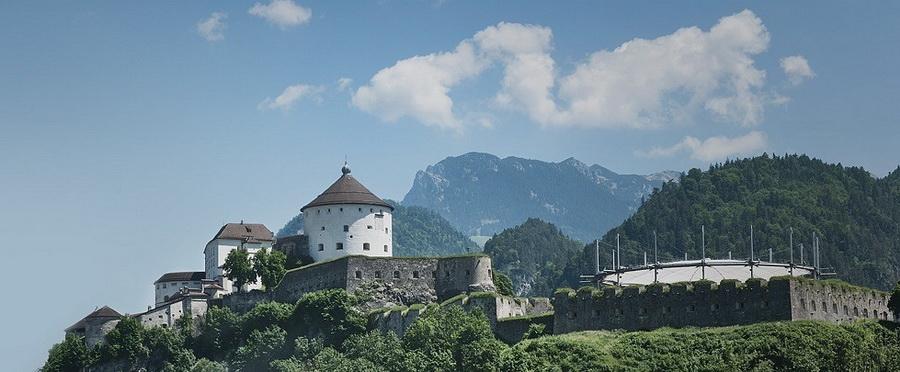 Erhabenes Wahrzeichen, die Festung Kufstein