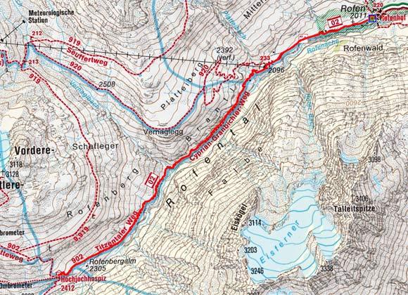Hochjoch Hospiz (2423 m) von Vent