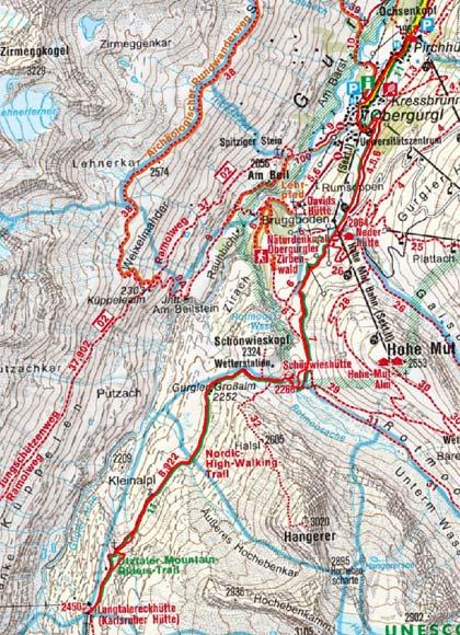 Langtalereckhütte (2445 m) von Obergurgl
