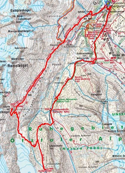 Obergurgler Drei-Hütten-Tour