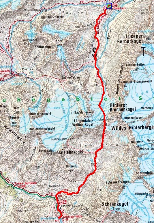 Tag 2: Vom Westfalenhaus über das Längentaljoch zur Amberger Hütte