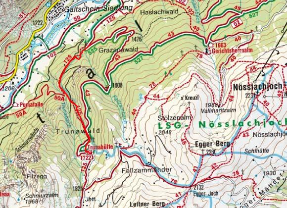 Trunahütte (1750 m) von Trins