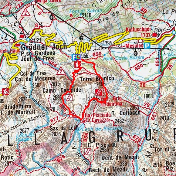 Pisciadu Klettersteig (FV Brigada Tridentina)