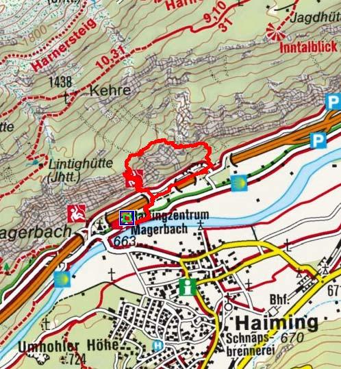 Geierwand - Klettersteig bei Haiming