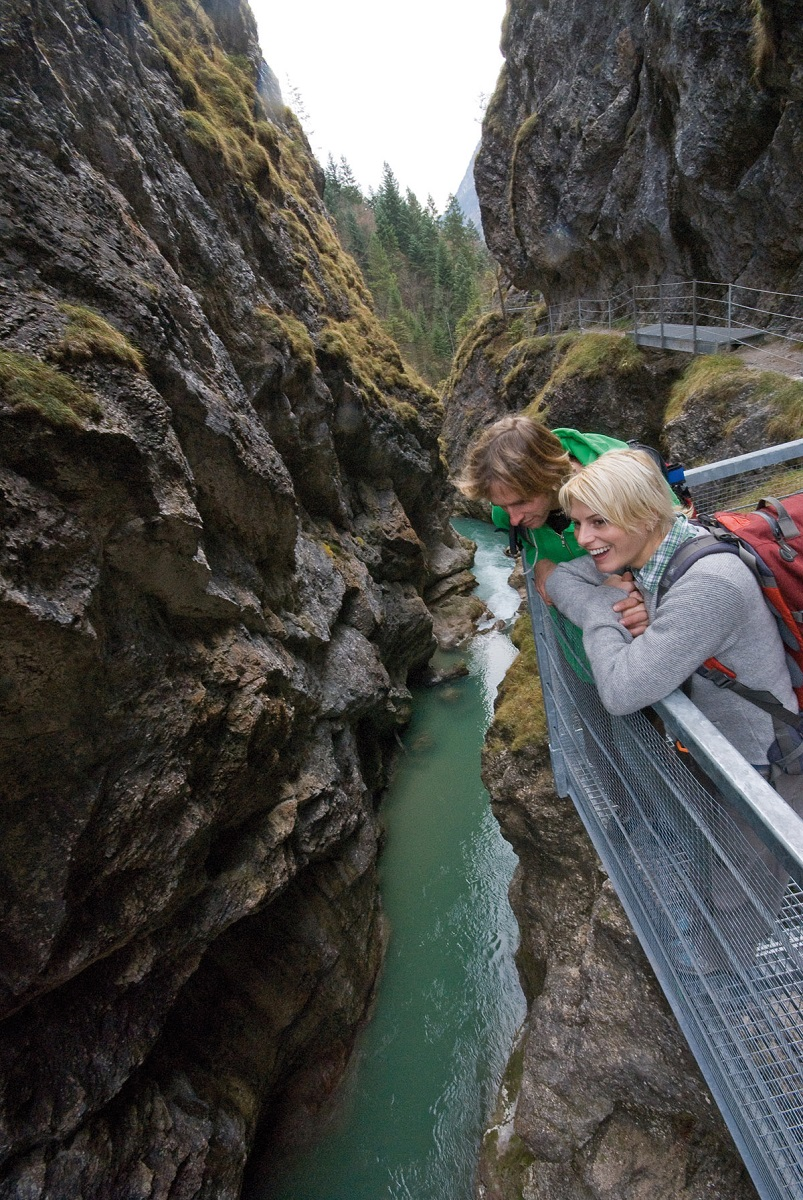 Klammwandern Tirol Alpbachtal