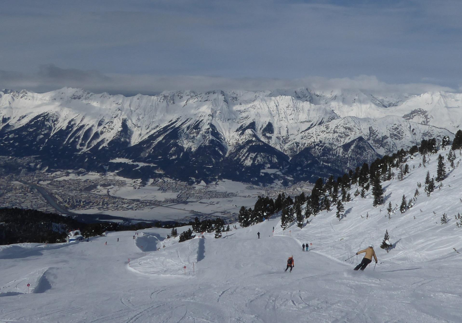 Pistenqualität in Tirol, Glungezer