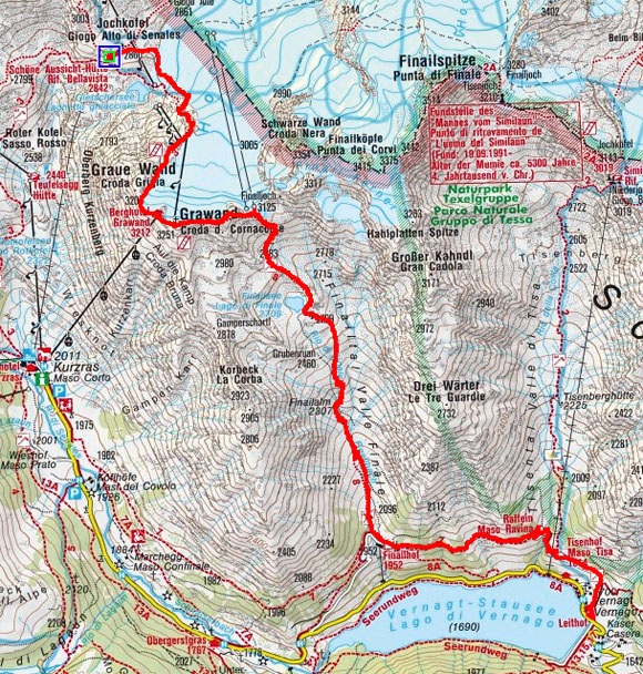 Kurzraser 2-Dreitausender Gipfeltour – Tag 1
