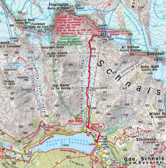 Schnalser 4-Dreitausender Gipfelrundtour – Tag 5
