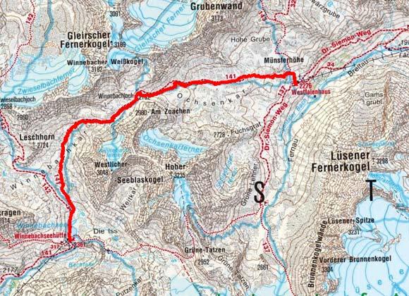 Sellrainer Hüttenrunde (5 Etappen) - Tag 2