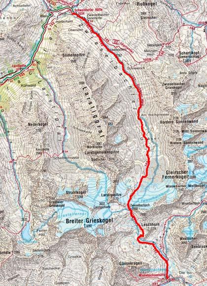 Sellrainer Hüttenrunde (5 Etappen) - Tag 3