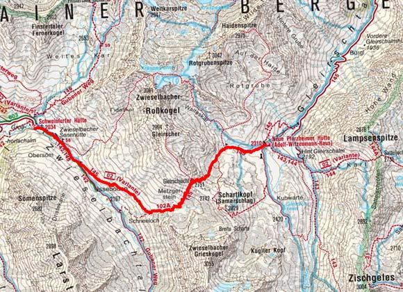 Sellrainer Hüttenrunde (5 Etappen) - Tag 4