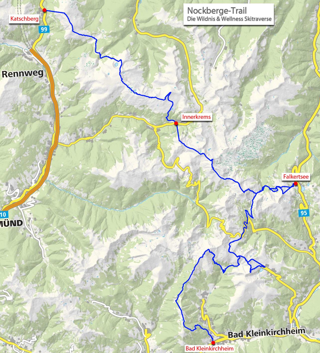 Skidurchquerung Nockberge-Trail