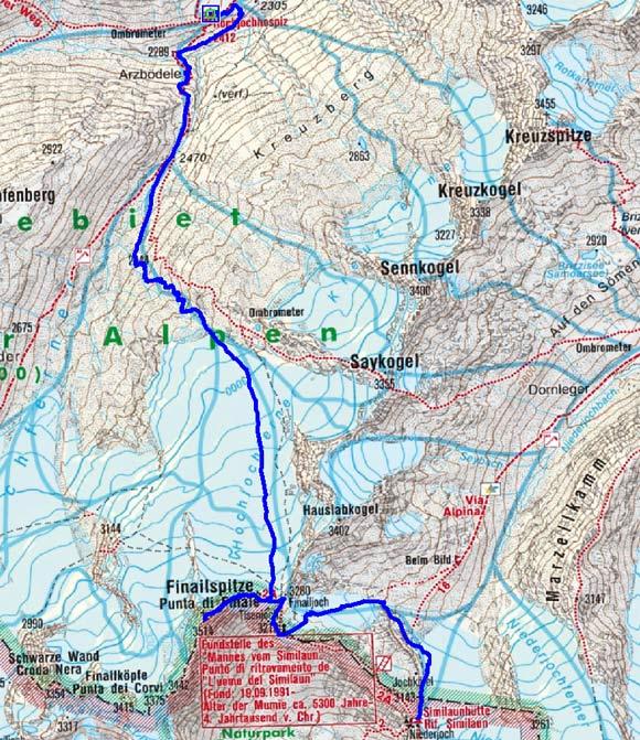 Große Ötztaler Skidurchquerung - Tag 4