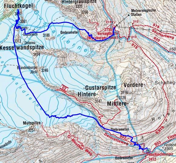 Große Ötztaler Skidurchquerung - Tag 5